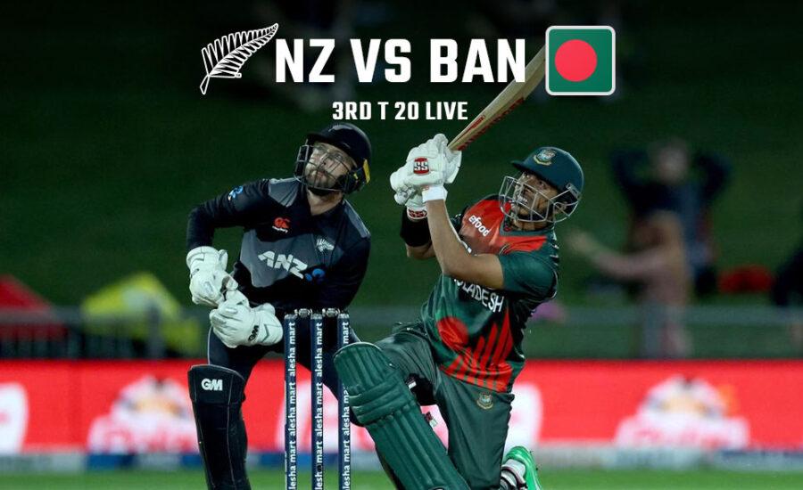 New Zealand vs Bangladesh 3rd T20I Prediction And Betting Tips