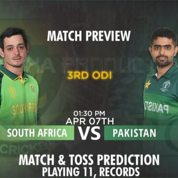 South Africa Vs Pakistan 3rd Odi Match Prediction And Betting Tips