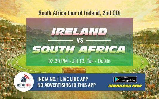 Cricket Betting Tips – Ireland vs South Africa 2nd ODI Match Prediction