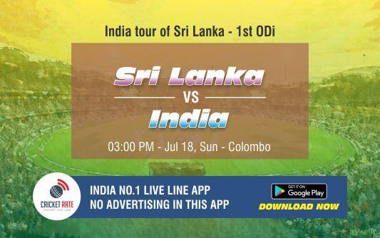 Cricket Betting Tips – Sri Lanka vs India 1st ODI Match Prediction