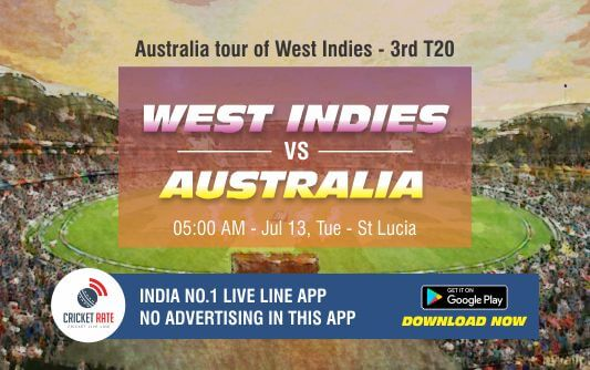 Cricket Betting Tips – West Indies vs Australia 3rd T20I Match Prediction