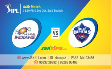 Cricket Betting Tips - Mumbai vs Delhi 46th Match Prediction
