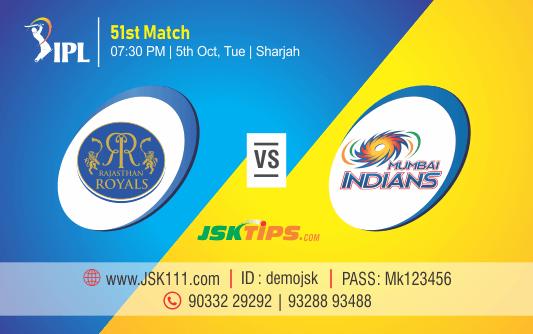 Cricket Betting Tips – Rajasthan vs Mumbai 51st Match Prediction